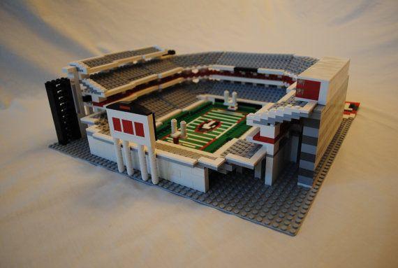 Georgia Sanford Football Stadium Brick Model Football Stadiums Stadium Brick