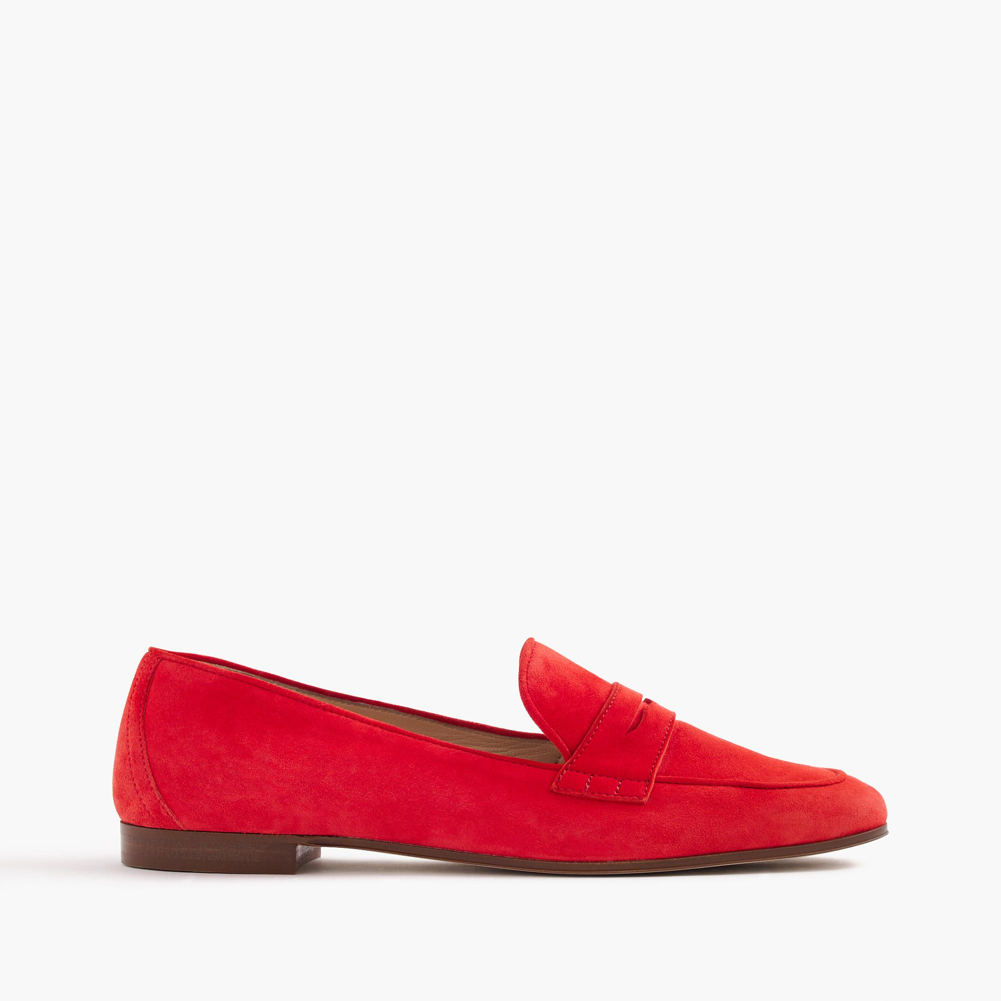 472edd143c7 J.Crew - Charlie penny loafers in suede