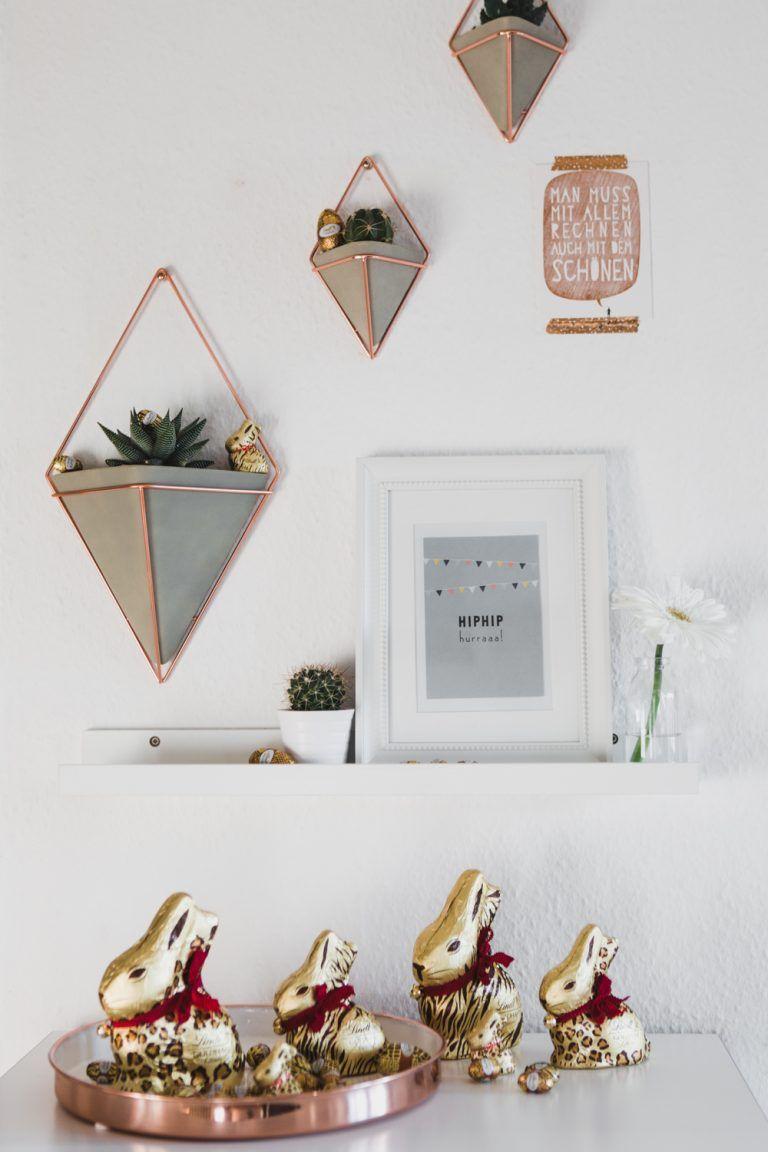 Wohnzimmer Deko Rosegold  Dekoration kinderzimmer, Roségold deko