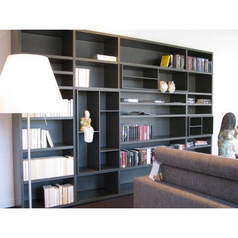 Poliform kast Wall | Kasten - maatkast - schuifdeurkast - boekenkast ...