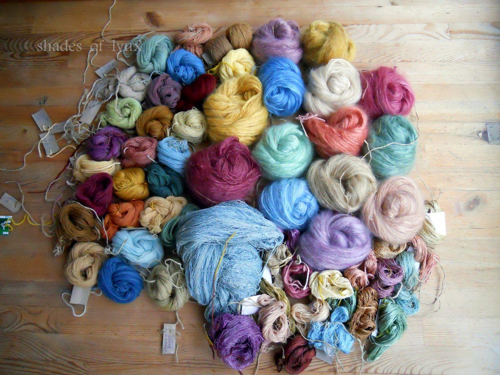 Diy Fermented Herbal Dyes For Yarns From Shadesoflynx