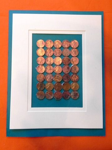 What do you do with your money? Ombre Penny Art? OR Make your money grow @ https://calendarbudget.com/home/money-grows