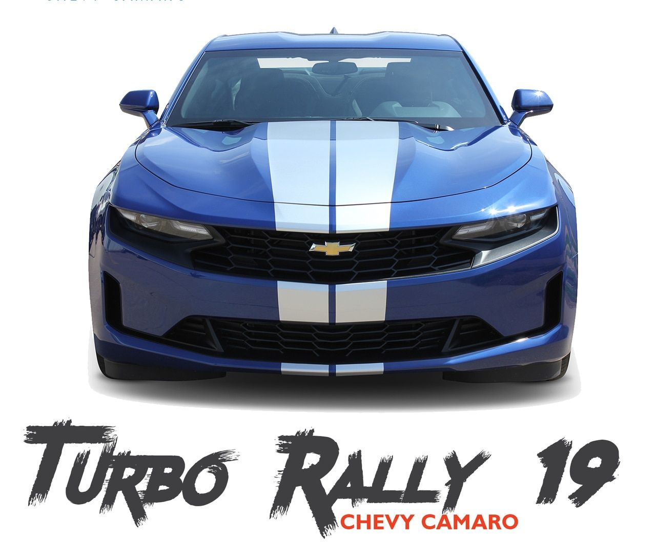 2019 2020 Chevy Camaro Racing Stripes Turbo Rally 19 Hood Decals Bumper To Bumper Vinyl Graphics Kit Racing Stripes Chevy Camaro Camaro