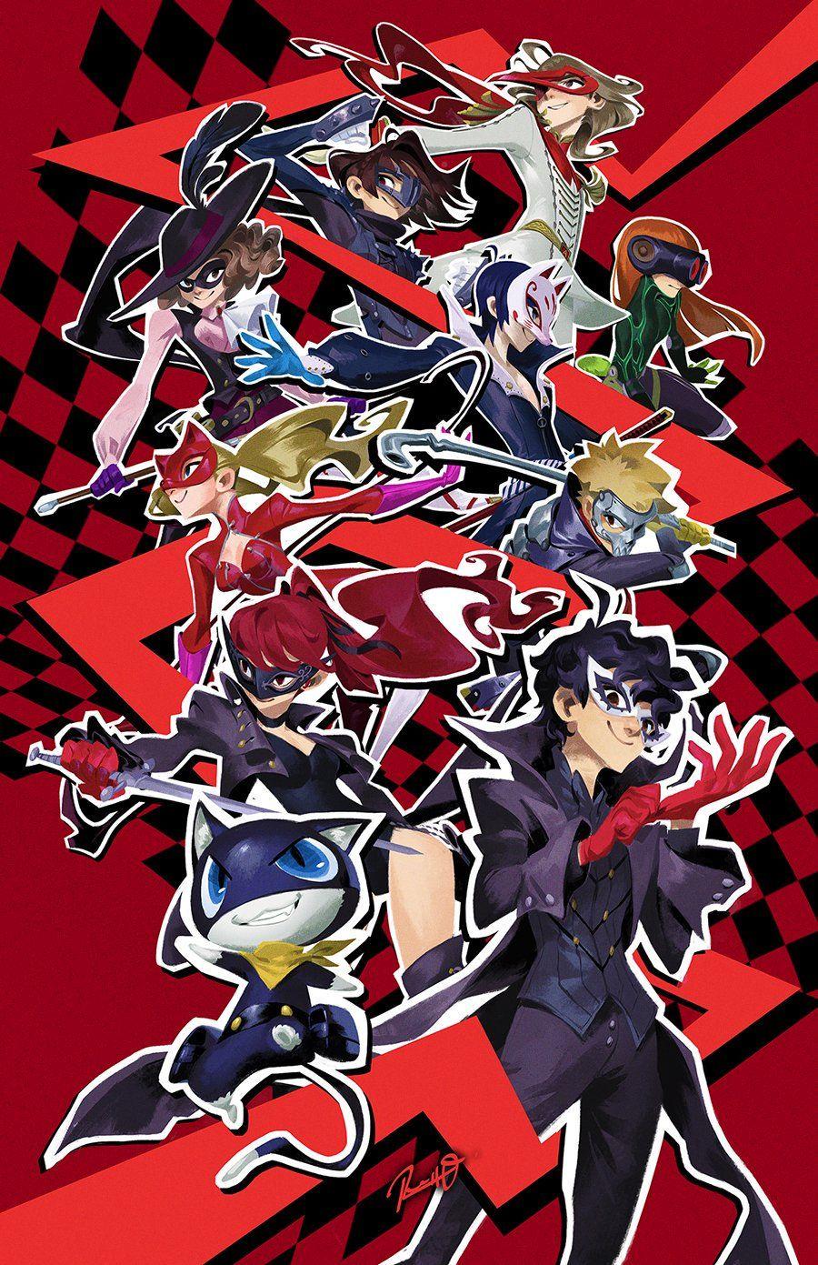 persona 5 anime persona 5 joker