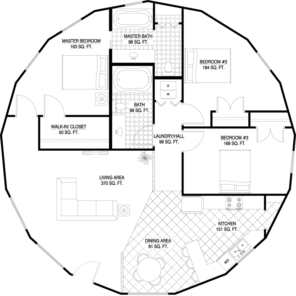 Awesome House Plans Round Home Design Pictures - Interior Design ...