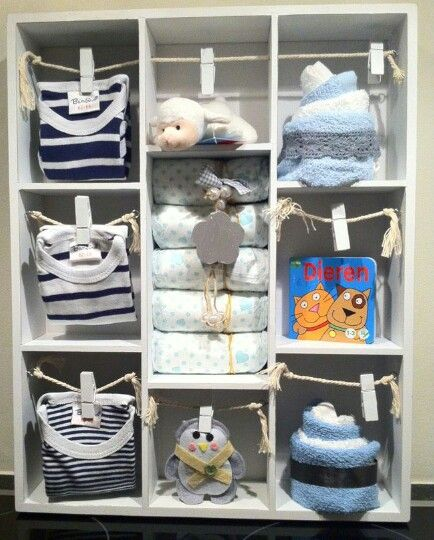 kado idee jongen baby shower idee n pinterest babies gift and baby crafts