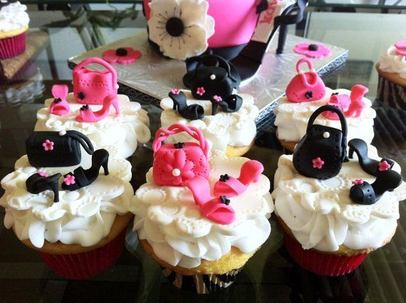 And Edible BirthdayTips Heels About Toppers Cupcake Purse High BCdorxe