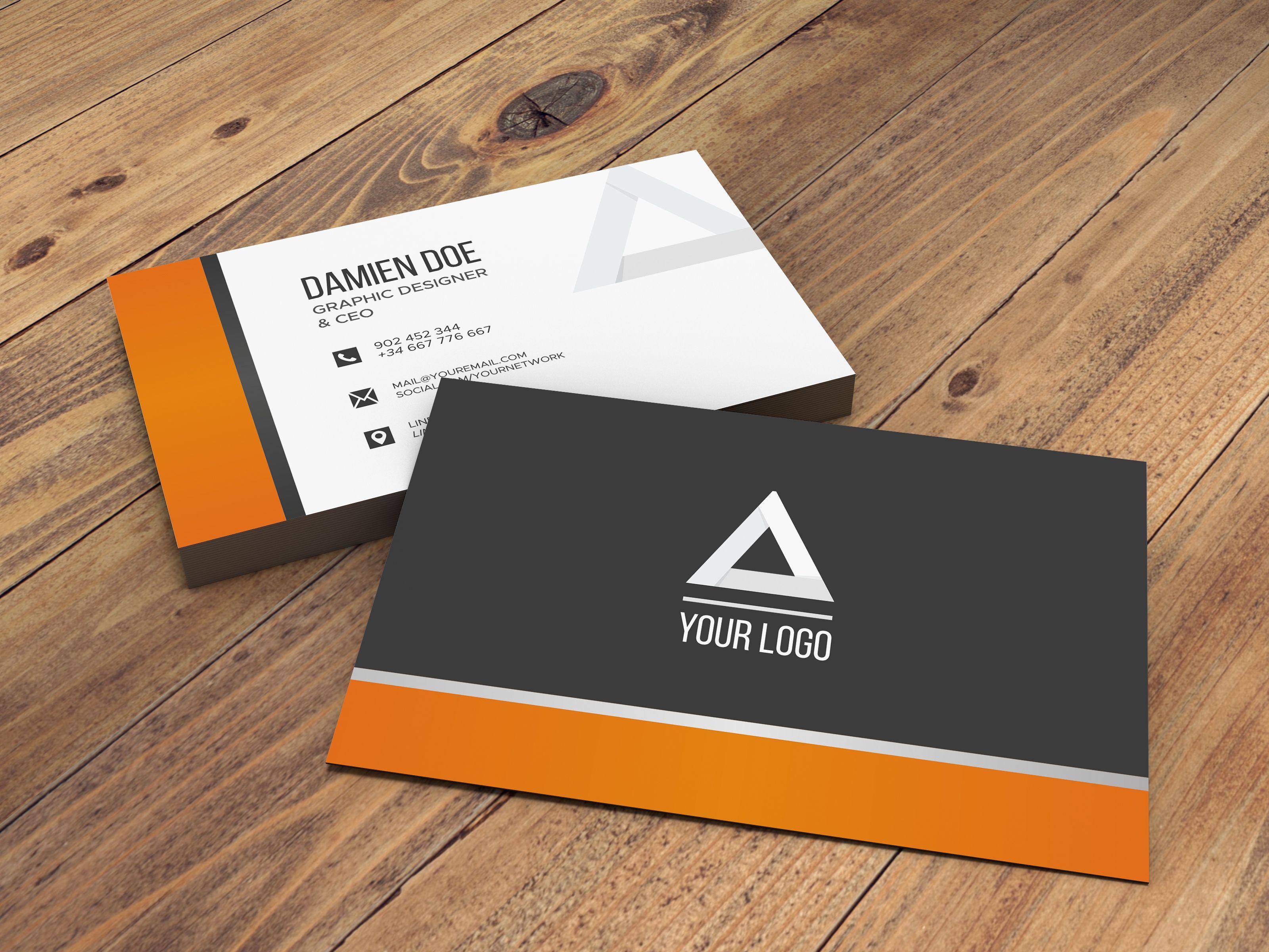 Business Card Business Card Mock Up Business Card Psd Business