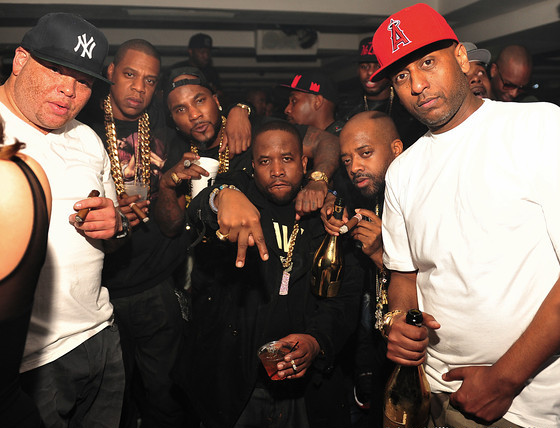 Jay z shawn pecas costner young jeezy big boi jermaine dupri jay z young jeezy big boi j at the so so def 20 year anniversary after party malvernweather Images