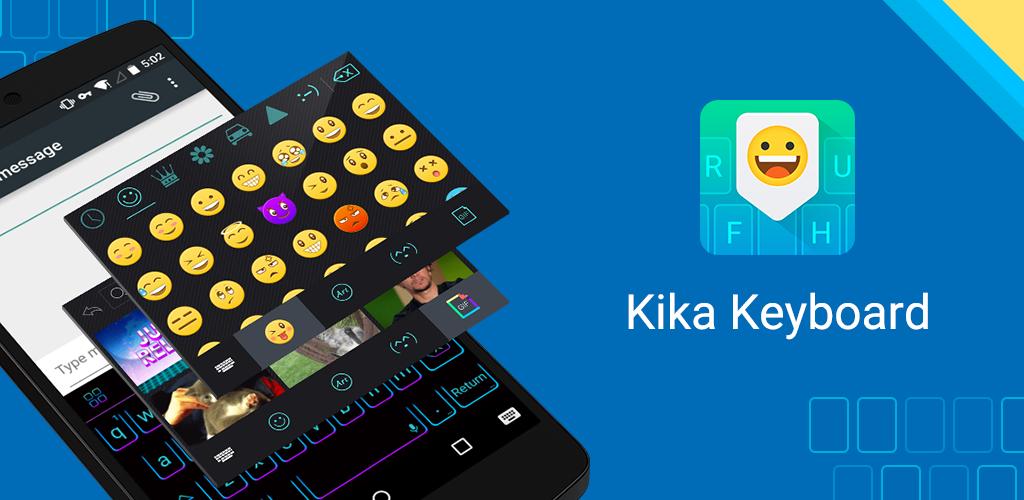 Kika Emoji Keyboard GIF Free Appstore for