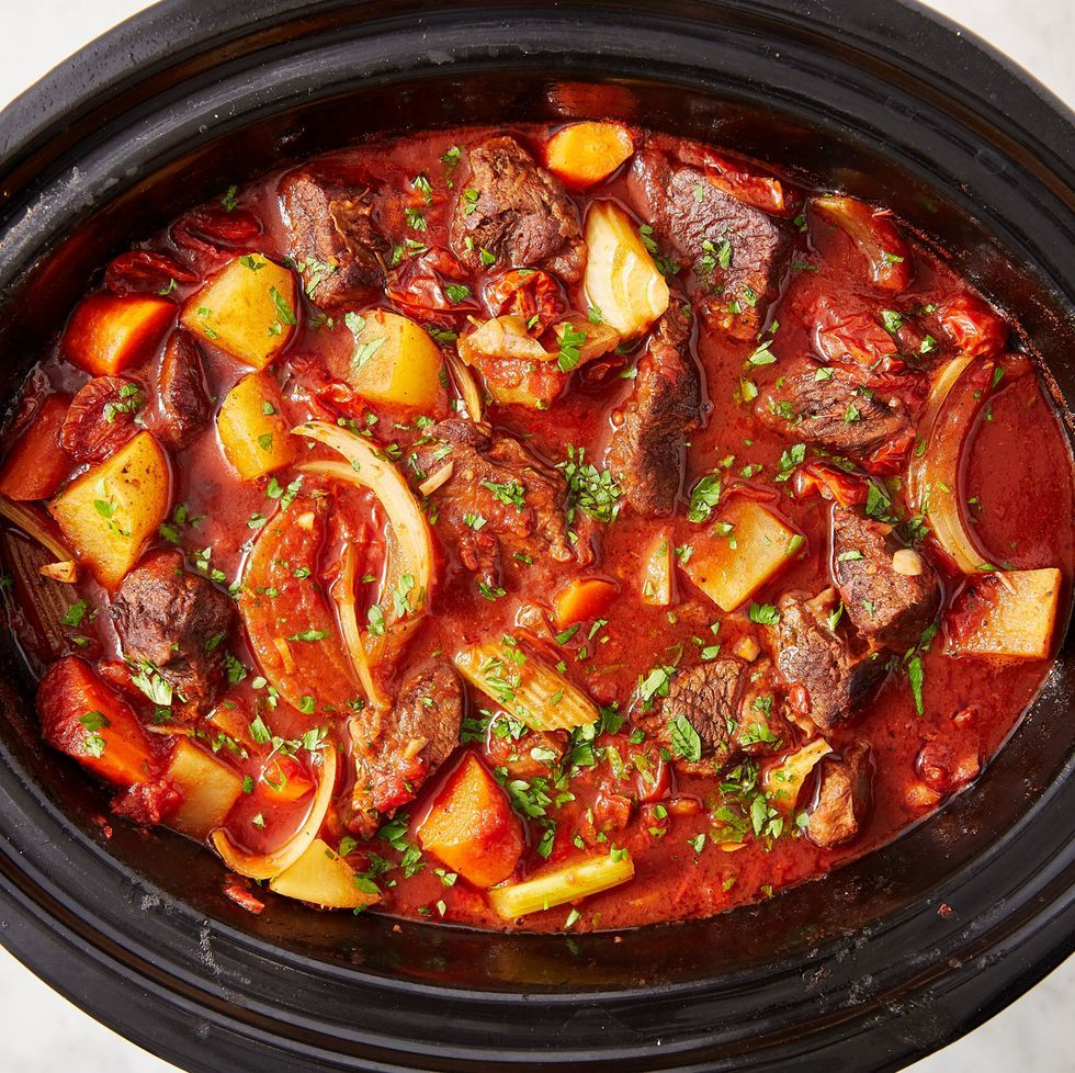 Make Slow Cooker Beef Stew And Everything Will Be Okay Recipe In 2020 Slow Cooker Beef Stew Beef Stew Recipe Crockpot Recipes Beef Stew
