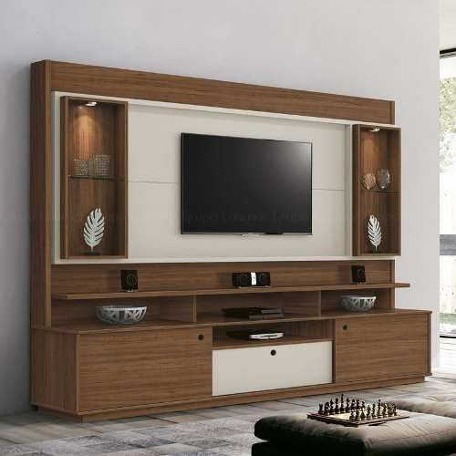 Home Rack Com Painel 2 40m P Tv Led Lcd Ate 60 Pol Coliseu