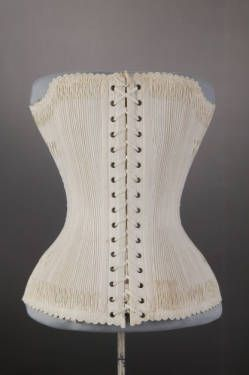 corset  costume and textile collection  wedding corset