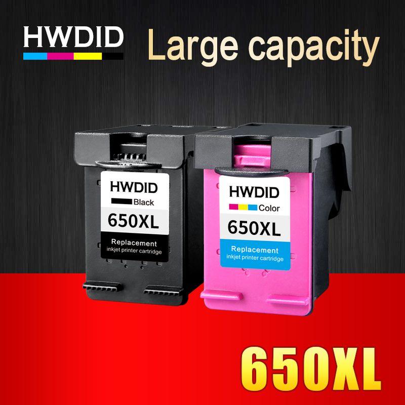 2 Paczka Tusz Kompatybilny Do Hp 650 Xl Do Hp Deskjet Ink