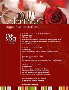 Red Rock Spa Valentine S Day Specials Announced Station Casinos