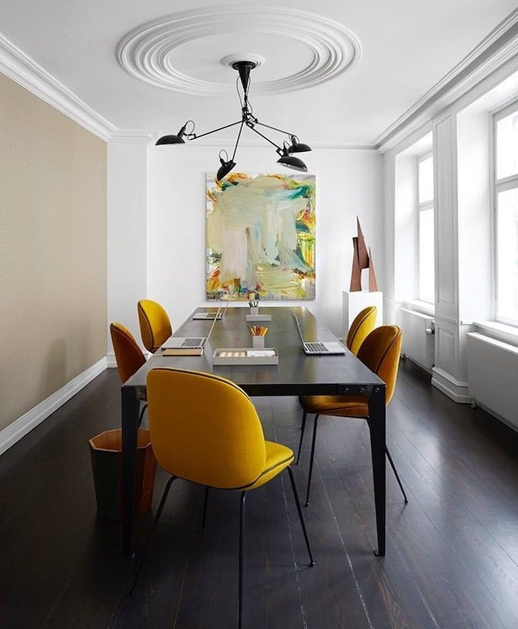 Dining room design modern image by Erica Winterfield ...