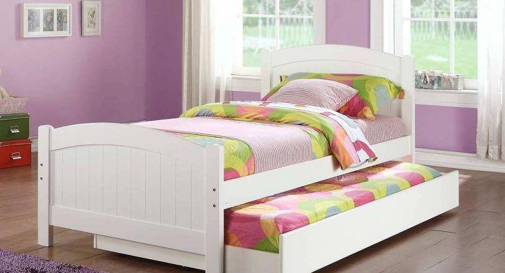 Impressive Kid Bedroom Decoration Using Children Trundle Bed Frames