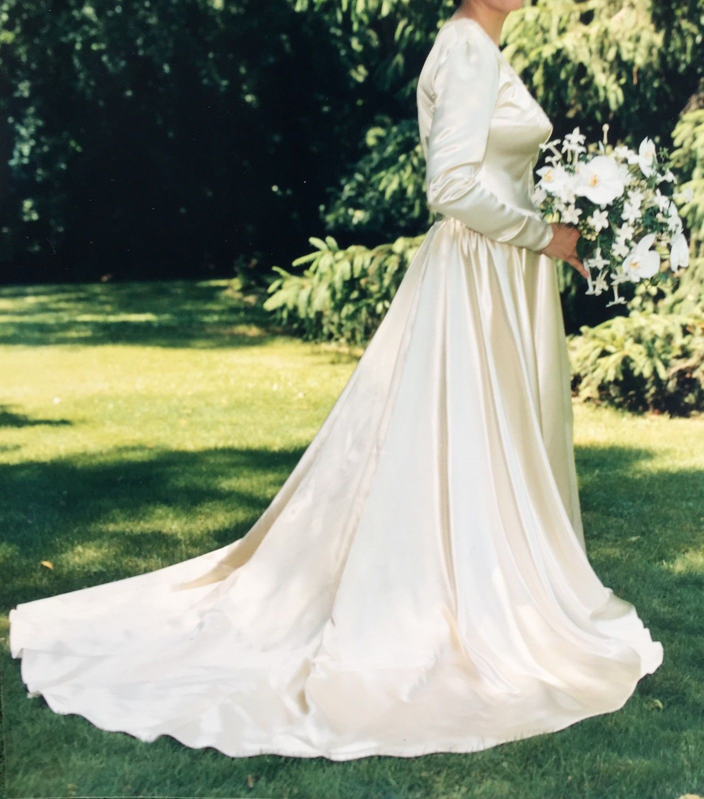 Vintage 1944 Wedding Gown Size 10 12 | eBay | The Simply Sentimental ...