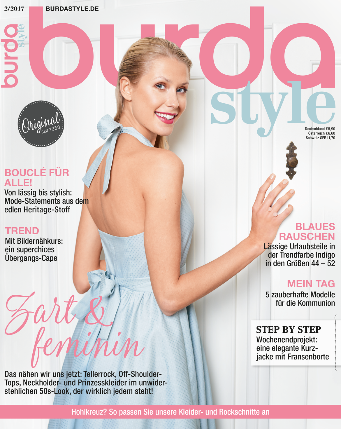 Magazin burda style Ausgabe 02/2017   Kleidung nähen   Pinterest ...