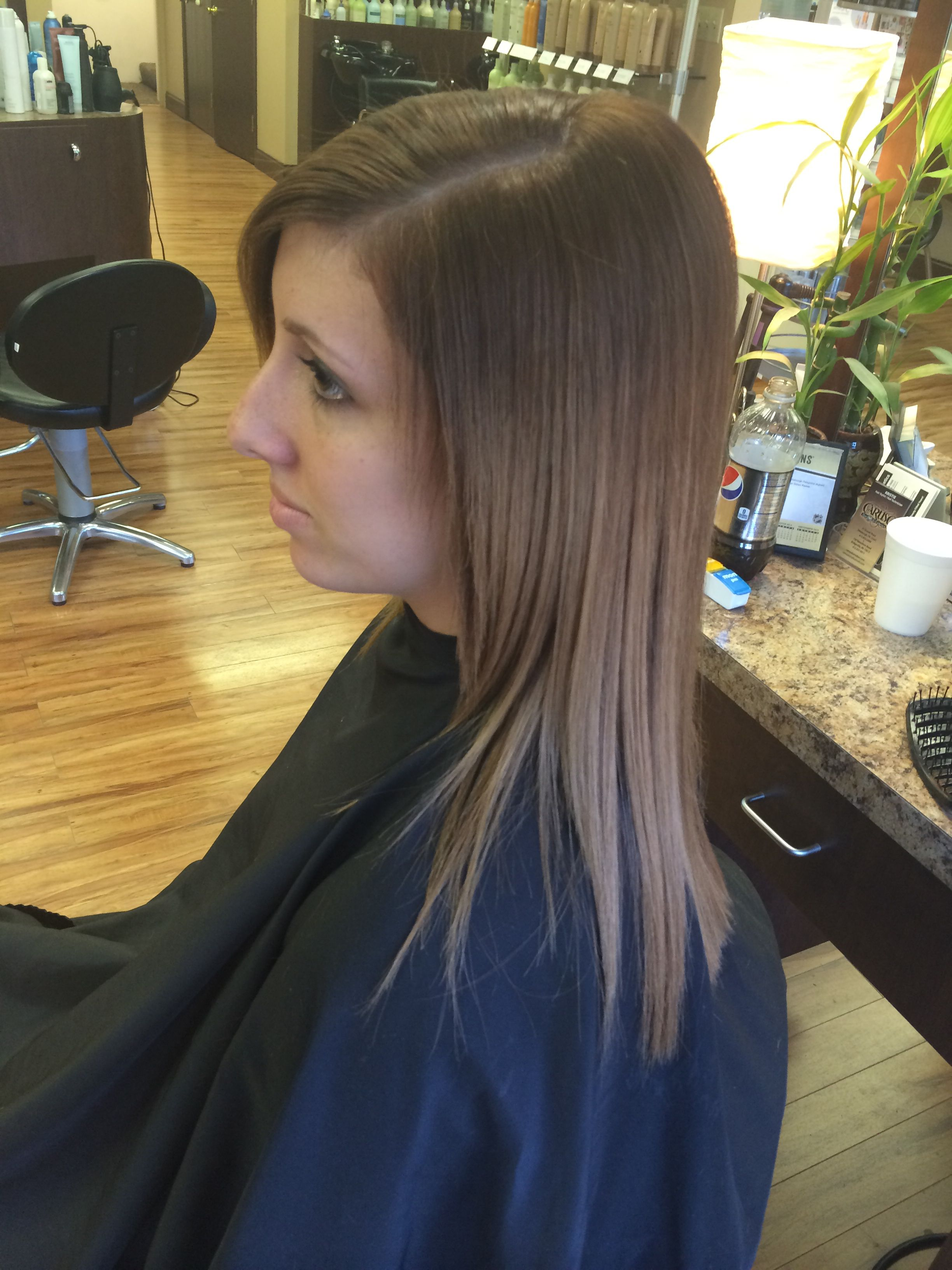 A Soft Ombre Caruso S On Vanadium Pittsburgh Pa Stylist Kristie Long Hair Styles Hair Styles Hair