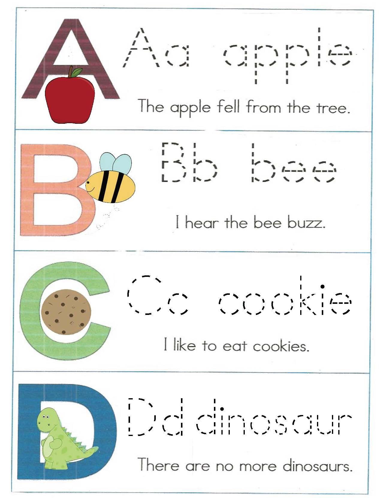 Emergent Reader Alphabet Booklet