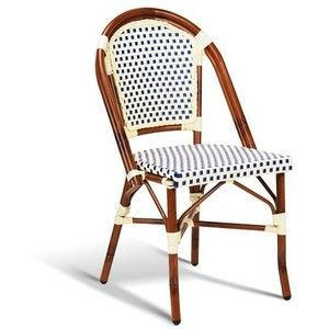 Cafe Rattan French Bistro Chairs