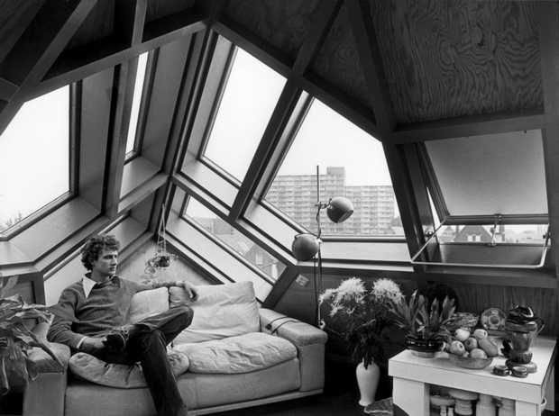 Piet Blom - Kubus woningen Rotterdam | ARCHITECTURE | DE HOLTE ...