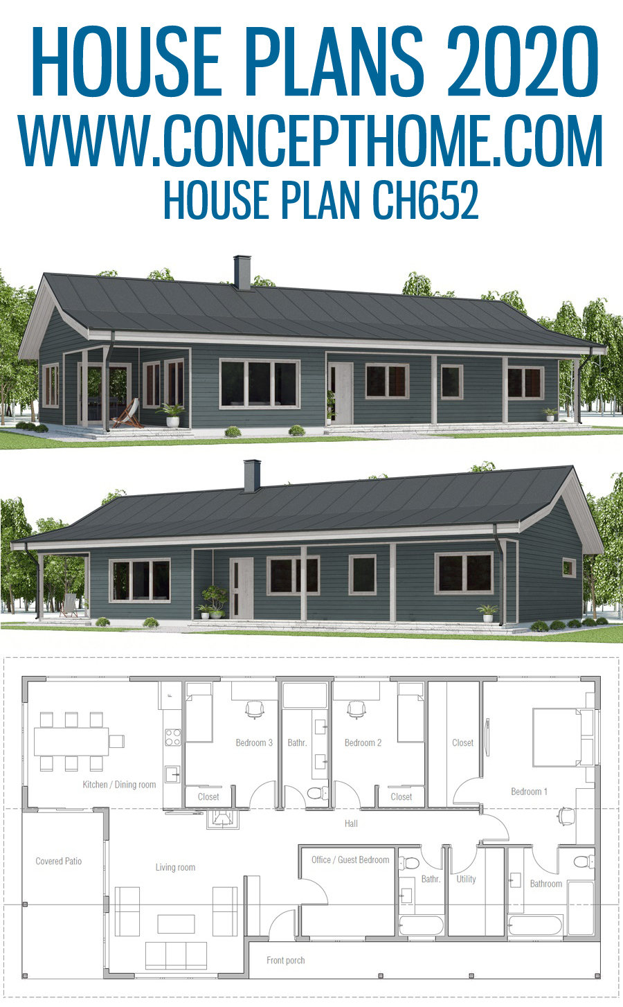 House Plan Ch652 House Plans My House Plans New House Plans
