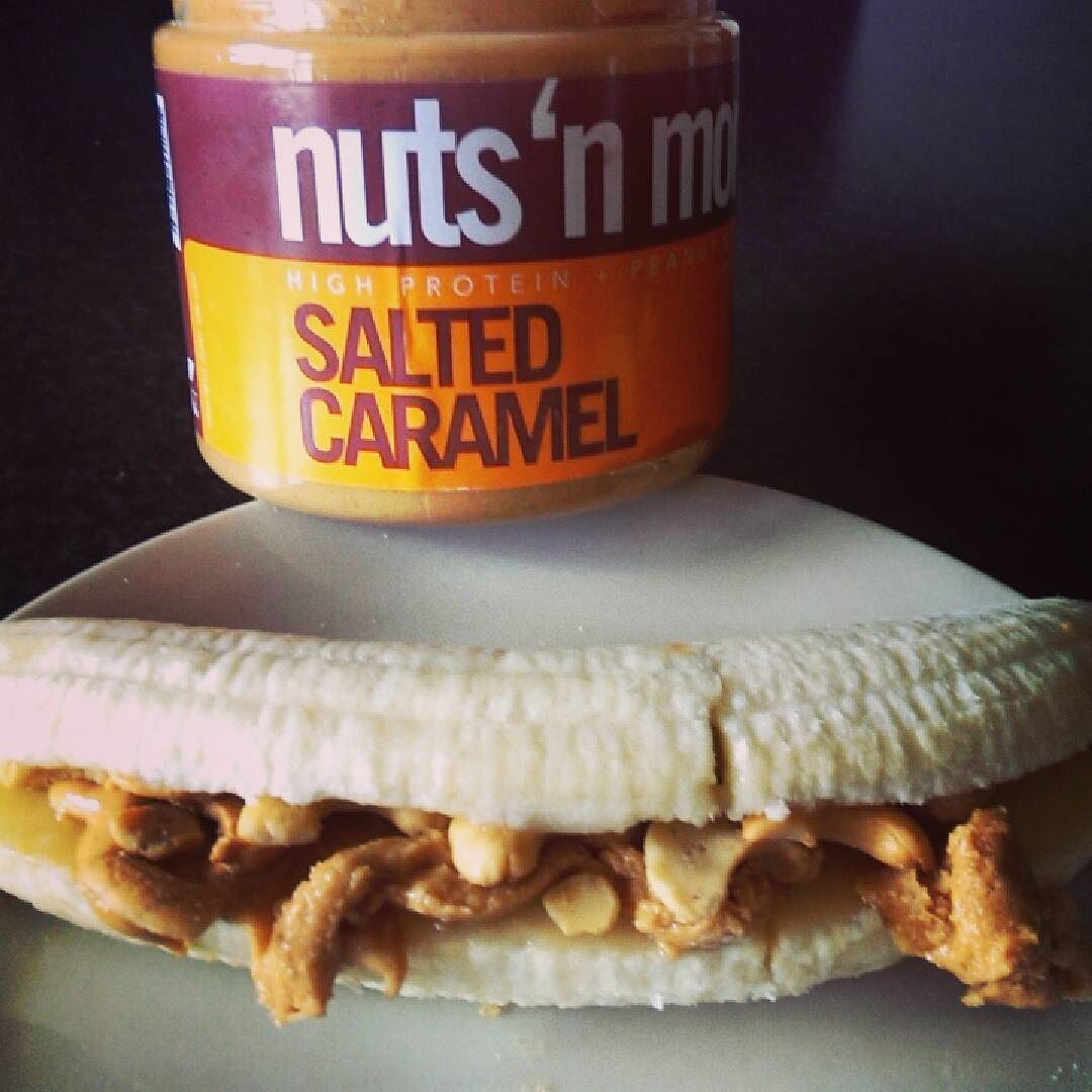 If you haven't tried this Already do it !! Banana filled with nuts and more  Salted caramel peanut butter and some salted cashews  There are no words!! #nutsandmore  #highprotein  #nuts  #goodfats  #postworkoutmeal #instafood  #healthy  #peanuts #healthyfoodporn #preworkoutmeal  #powerliftingfood  #bodybuildingfood  #deadliftday  #peanutbutter #fitfam  #irishfitfam  #fitfamfood #deadlier #bodybuildingfood  #foodporn #absaremadeinthekitchen  #cashews #eatcleangetlean  #lowcarb  #glutenfree…