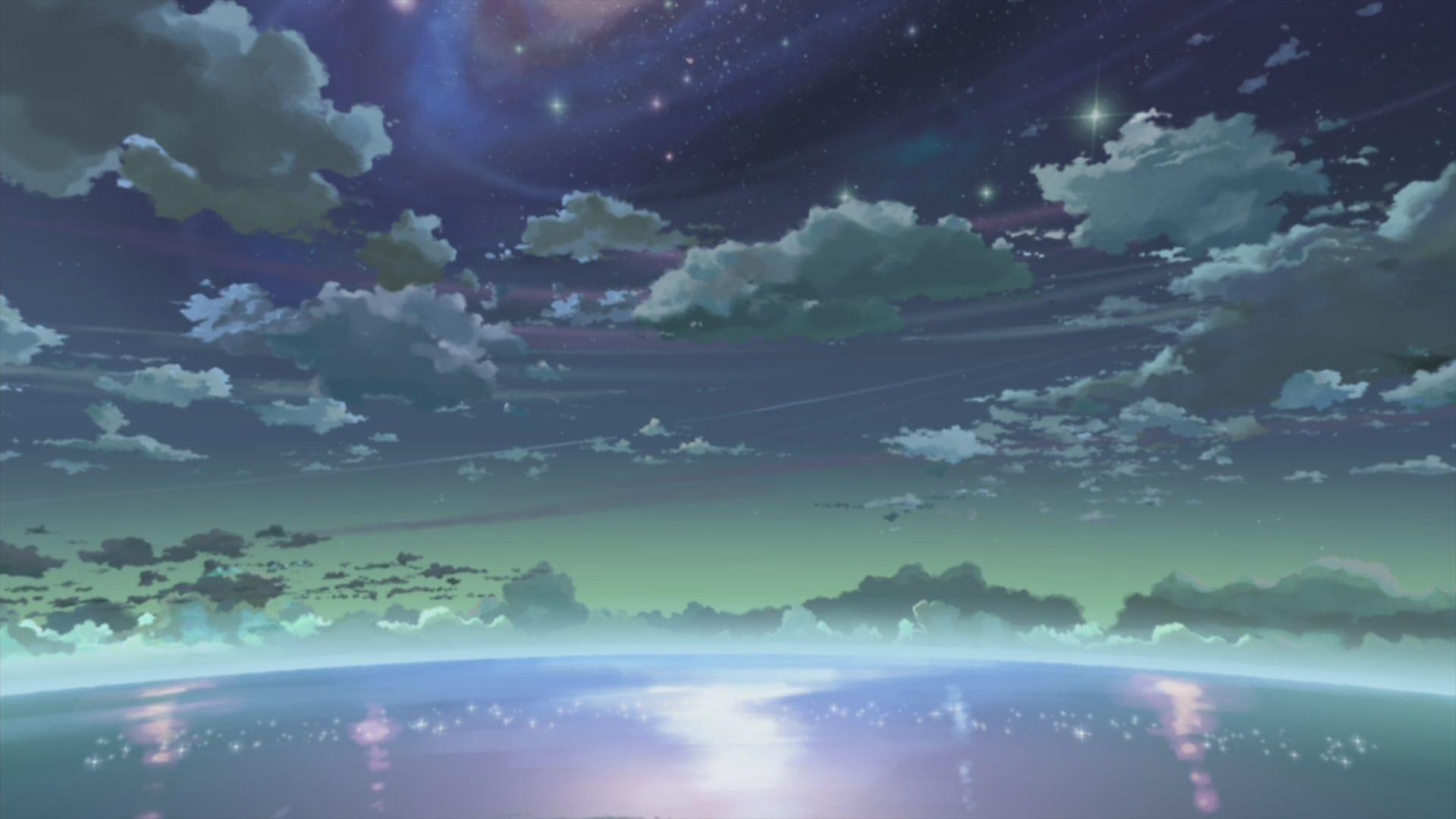 makoto shinkai аниме