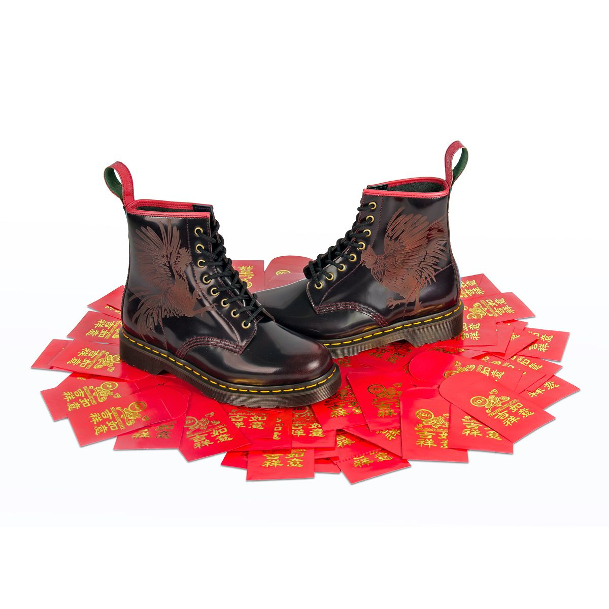 YEAR OF THE ROOSTER: Let your feet celebrate Chinese New
