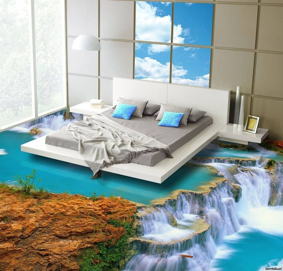 Unique Bedroom Paint Ideas with Using Jungle Style and Creative Interior  Colors