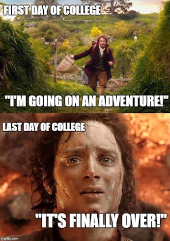 Lazy College Senior Meme Freshman College Freshmen Vs Seniors College Senior