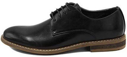 nautica men's dress shoes wingtip lace up oxford business