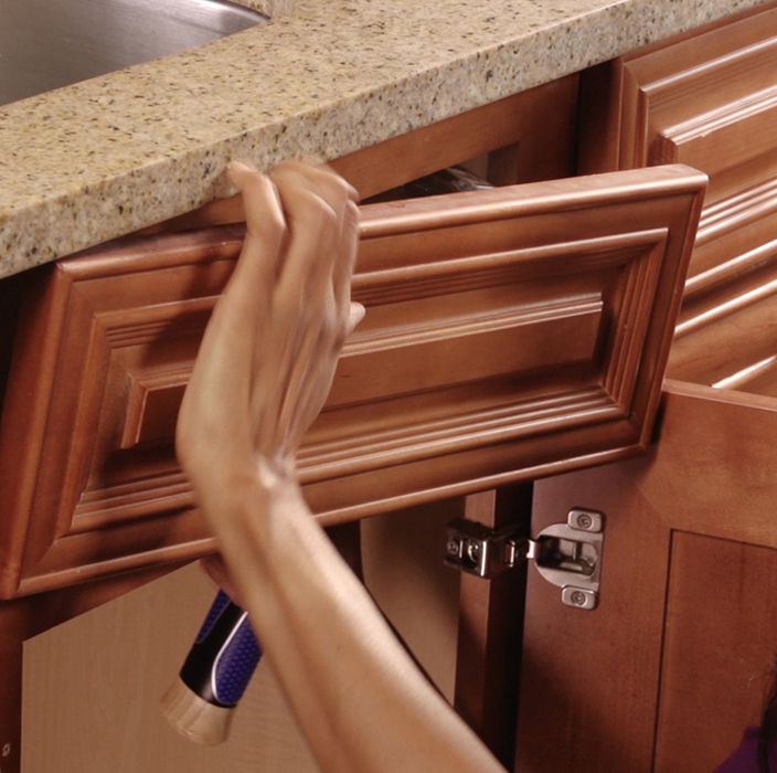 Perfect Tidy Up Your Kitchen With A False Front Tip Out Drawer.