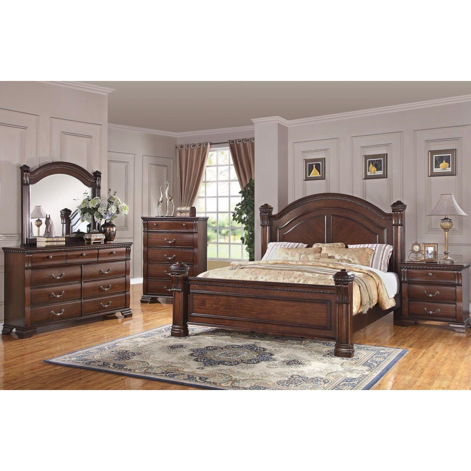 Isabella Queen Bedroom Group by Bernards at Wayside
