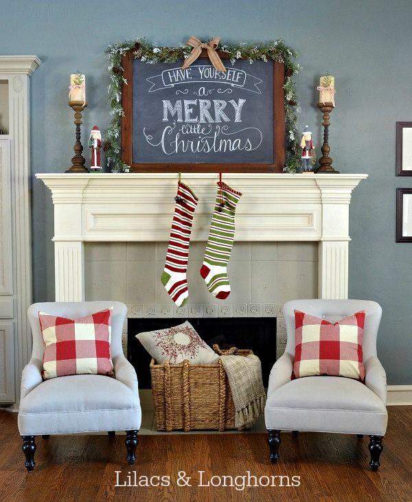 Christmas Mantel Inspiration