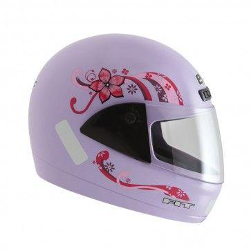 Moto Peças e Acessórios - CAPACETE FEMININO EBF 7 FIT LILÁS - Capacete - Para Você