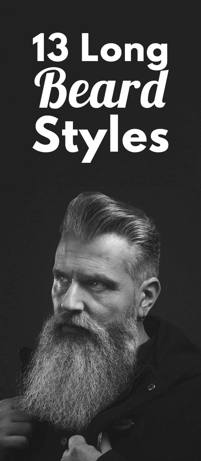 Ultimate Long Beard Guide #hairandbeardstyles