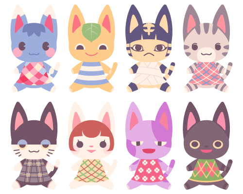 Cats Cats Cats ㅇㅅㅇ Animal Crossing Animal