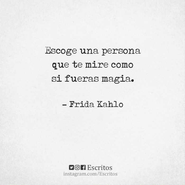 Frida Kahlo Frases Amor Frases Miradas Personas Amar