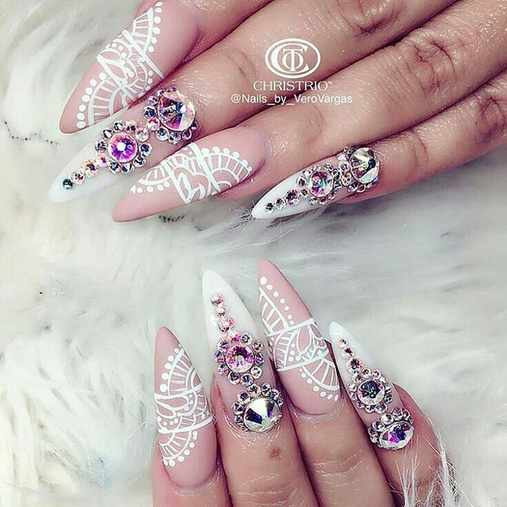 royaltraship | Nails | Pinterest | Rosa, Uñas y Joya
