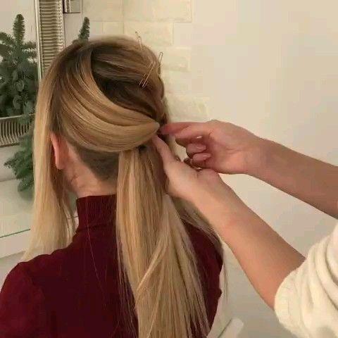 Beautiful Hairstyling Video Tutorial Beautiful Hairstyle Hairstyles Hairstyling Tutorial Video Long Hair Styles Hair Styles Curly Hair Styles Naturally