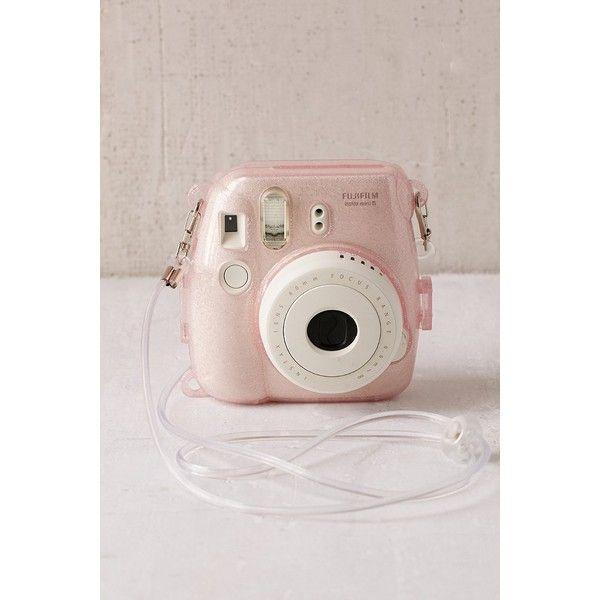 Fujifilm Instax Mini 8 Glitter Hard-Shell Camera Case ($24) ❤ liked on