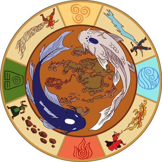 The Legend Of Korra And Order Of The White Lotus Necklace Aang