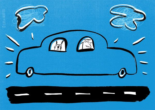 Animals on a road trip | Carla Martell