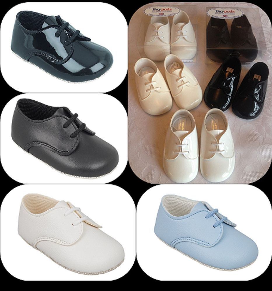 BABY BOYS SHOES CHRISTENING WEDDING PARTY SPECIAL OCCASION BABY PRAM SHOES