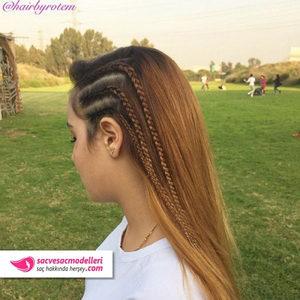 Cool Hairstyles For Girls Delectable Okulicinsacmodelleri3  Okul Saç Modelleri  Pinterest  Hair