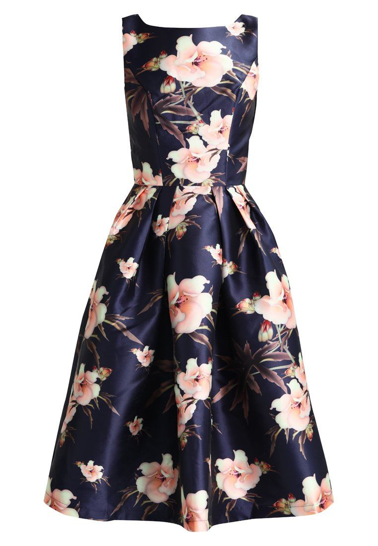 Chi Chi London BETH Cocktailkleid/festliches Kleid navy | Patricias ...