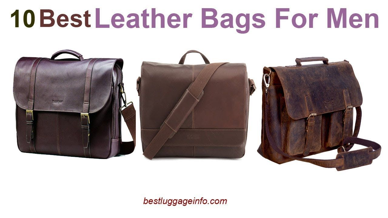 Best Leather Bags For Men | Ten Best